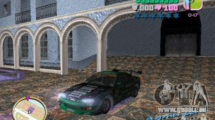 Nissan Silvia S15 Kei Office D1GP pour GTA Vice City