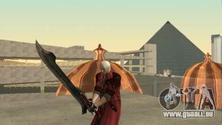 Nero sword from Devil May Cry 4 für GTA San Andreas