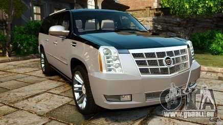 Cadillac Escalade ESV 2012 pour GTA 4