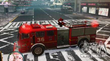 New LCFD Car pour GTA 4