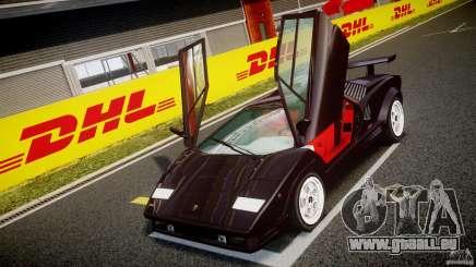 Lamborghini Countach v1.1 für GTA 4