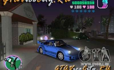 Porsche 911 VEILSIDE für GTA Vice City