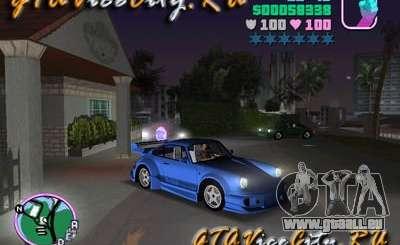 Porsche 911 VEILSIDE pour GTA Vice City