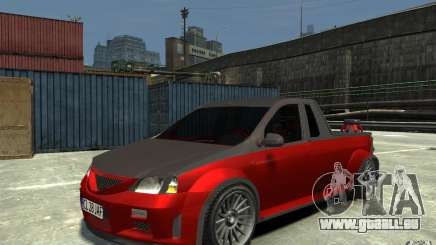 Dacia Pick-up Tuning für GTA 4