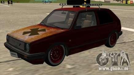VW Golf II Shadow Crew für GTA San Andreas