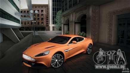 Aston Martin Vanquish V12 für GTA San Andreas