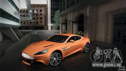 Aston Martin Vanquish V12 pour GTA San Andreas