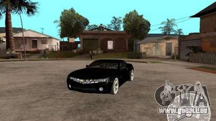 Chevrolet Camaro-Konzept чёрный für GTA San Andreas