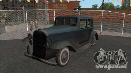 Le véhicule de la seconde guerre mondiale pour GTA San Andreas
