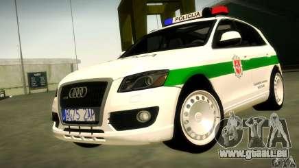 Audi Q5 TDi - Policija für GTA San Andreas