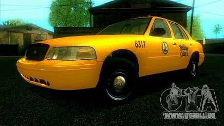Ford Crown Victoria 2003 TAXI pour GTA San Andreas