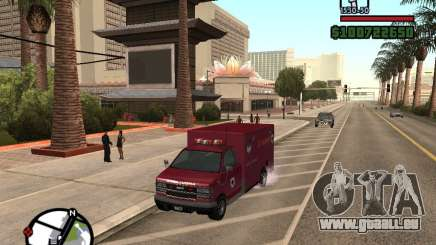 Ambulance de GTA IV pour GTA San Andreas