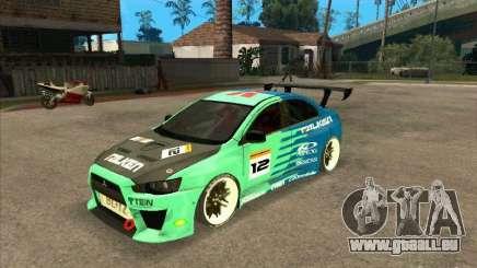 Mitsubishi Evo X Falken für GTA San Andreas