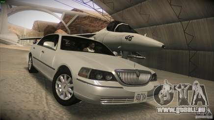 Lincoln Towncar 2010 pour GTA San Andreas