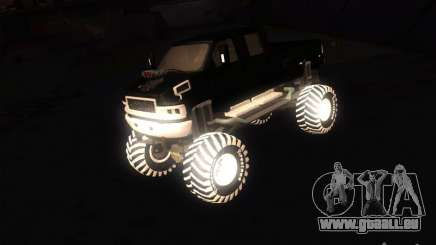 GMC Monster Truck für GTA San Andreas