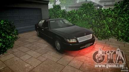 Washington FBI Car pour GTA 4