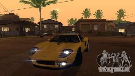 Ford GT für GTA San Andreas