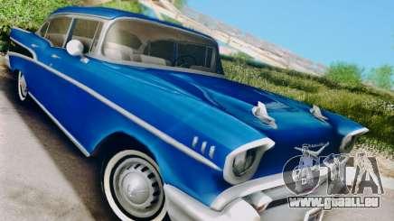 Chevrolet Bel Air 4-Door Sedan 1957 pour GTA San Andreas