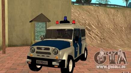 Bobik UAZ 3159 Polizei v. 2 für GTA San Andreas