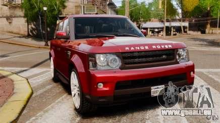 Land Rover Range Rover Sport HSE 2010 pour GTA 4