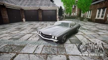 Chevrolet Chevelle SS 1970 pour GTA 4