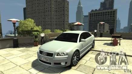 Audi A8 4.2 QUATTRO beta pour GTA 4