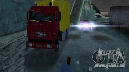 KAMAZ camion à ordures pour GTA Vice City