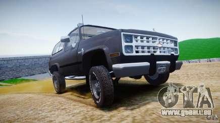 Chevrolet Blazer K5 Stock für GTA 4