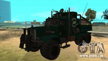 KrAZ 255 B1 Krazy-Crocodile pour GTA San Andreas