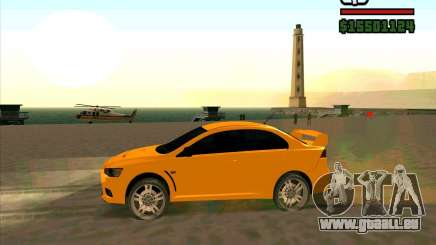 Mitsubishi Lancer Evolution pour GTA San Andreas