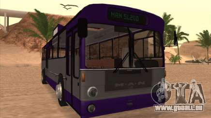 MAN SL200 Exclusive v.1.00 für GTA San Andreas