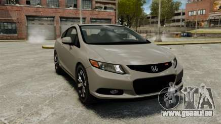 Honda Civic Si Coupe 2012 für GTA 4