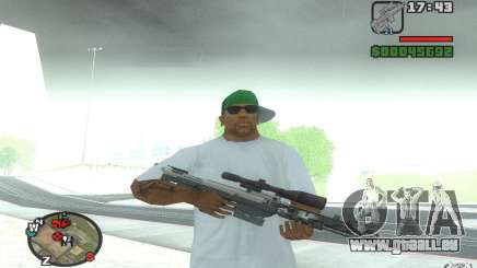 Ein Scharfschützengewehr aus einem Ballad of Gay Tony für GTA San Andreas