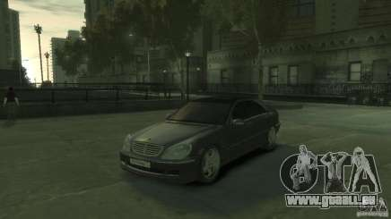 Mercedes Benz S550 pour GTA 4