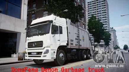 Dongfeng Denon Garbage Truck für GTA 4