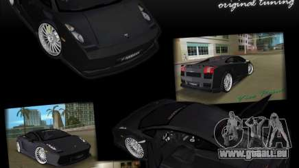 Lamborghini Gallardo Hamann Tuning pour GTA Vice City