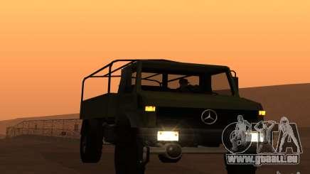 Mercedes-Benz Unimog pour GTA San Andreas