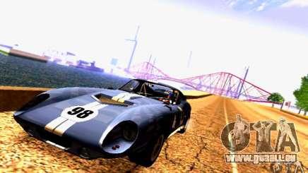 Shelby Cobra Daytona Coupe v 1.0 für GTA San Andreas
