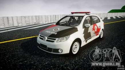Volkswagen Gol G5 PMSP [ELS] für GTA 4
