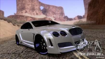 Bentley Continental GT Premier 2008 V2.0 pour GTA San Andreas