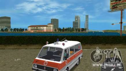 RAF 2203 Ambulanz für GTA Vice City