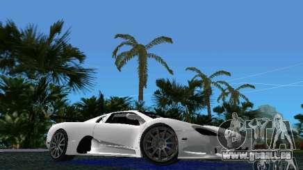 SSC Altimate Aero pour GTA Vice City
