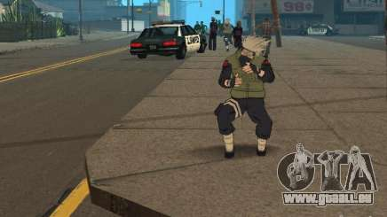 Hatake Kakashi From Naruto pour GTA San Andreas