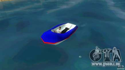 Speedboat dinghy pour GTA Vice City
