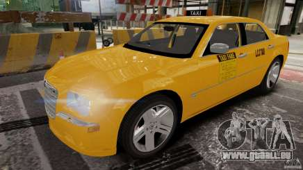 Chrysler 300c 3.5L TAXI FINAL pour GTA 4