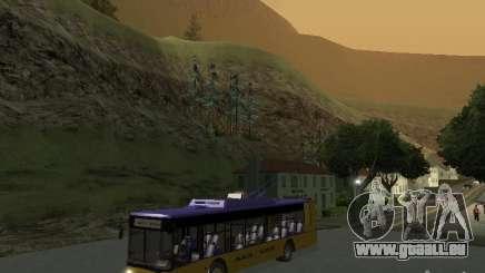 Trolleybus LAZ e-183 für GTA San Andreas