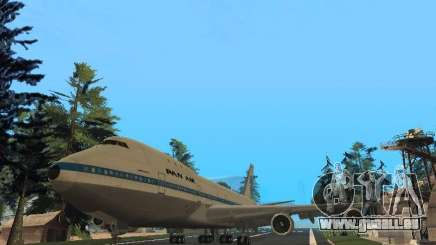 Boeing 747-100 Pan American Airways pour GTA San Andreas