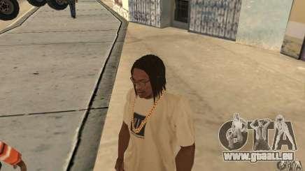Longs cheveux noirs pour GTA San Andreas