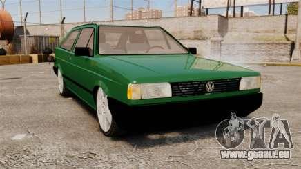 Volkswagen Gol GL 1992 Edit für GTA 4