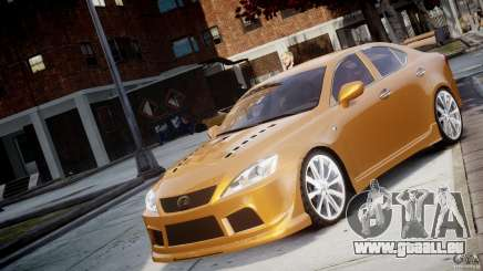 Lexus IS F für GTA 4